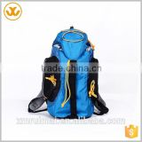 High quality multi-pocket blue black oxfod rope adjustable shoulder strap multifunctional backpack