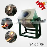 IGBT Saving Energy induction metal smelting furnace for iron/steel/copper/aluminum scrap