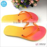 Guangzhou wholesale sublimation printing high quality rubber slippers flip flops