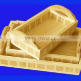 2014 high quality wooden brass silver plated bowl