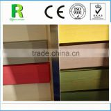 UV Coating Wooden Grain Fiber Cement Siding Board For External Wall