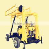 Wheels Mounted Hydraulic Core Sample Drilling Rig XY Series Core Sample Drilling Rig For Sale