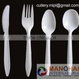 """Disposable tableware manufacturer "" High Quality Clear PP Disposable Plastic Cutlery for Airline and hotel"