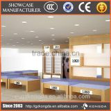 mdf display furniture optical acrylic display panel modern glasses display countertop