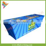 Hot sale 6ft trade show promotional table cover