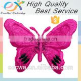 Trade Assurance custom butterfly embroidery patch