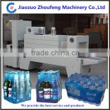 Bottle packing Semi-Automatic Sleeve Wrapper and PE Film shrink packaging machine