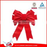 2015 Colorful Large Ribbon Bows for Christmas Decoration/ Handmade christmas decoration bows