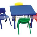 Play School Plastic Furniture Childrens Table and Chair Set Kids Desk/BX-OA-1350