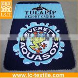 "supply Measures 50""x60"" polar fleece throw with full size and color graphic design printed(LCTM0005)"