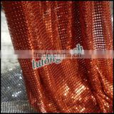 Anping Lutong mesh Aluminum Spider Mesh for fabric curtain drapery