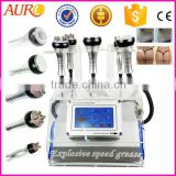 Ultrasonic Cavitation Body Sculpting Au-46B Best Cavitation Belly Massage Weight Loss Ultrasound Fat Removal Machine For Spa Use Body Slimming Machine
