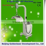 2013 New design E-light+IPL+RF machine tattooing Beauty machine brazil flag temporary tattoo