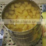 New arrival pure tin packing canned pineapple China