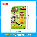 Zhorya New Design Duck Air Power Popper Shoot Ball Toy Kid