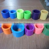 Multi-color acetate cellulose shoelace tipping film