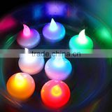 led flameless candles led color changing floating tealight candles led colorful floating candles