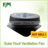 Renewable energy solar power inductrial ventilator Attic top ventilation Air Conditioning Roof Blower vent kits Ventilating Fan