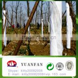 UV treated PP spunbond non woven fabric for plant cover / ground cover / tree cover / tomato cover