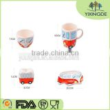 2016 Ceramic tableware suit creative cute baby food dishes cup personality Christmas gifts
