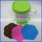 Silicone coffee cup pad