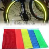 "Hot New Arrival!16 Pcs Strips Wheel Sticker 21"" Reflective Rim Tape Bike Motorcycle Car Tape 7 Colors Cheap Z1"
