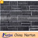 Natural black stone cladding for exterior walls NTCS-C031Y