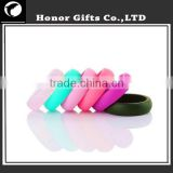 2017 Custom Logo Medical Grade Silicone Rings Bands For Wedding