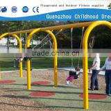 (CHD-850) Children happy outdoor games swing, four seats swing set, baby swing