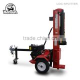 Italy style high capacity Honda gas engine with CE approved industrial size 50 ton wood splitter with diesel