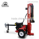 Italy style high capacity Honda gas engine with CE approved industrial size 50ton diesel engine wood splitter
