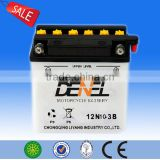 DOUBLE TECH HEAVE DUTY RECHARGEABLE MOTORCYCLE BATTERY YB10L-B(12V11AH)
