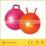 kids high gym PVC bouncy ball with handle