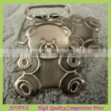 Nickel Free Baby Bear Shape Metal Pacifier Clip/Suspender Clips