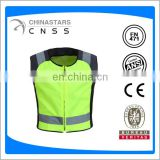 Safety clothing yellow hi vis rider coat