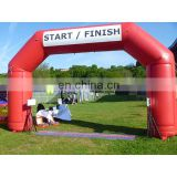 factory sale inflatable start finish line arch with custom