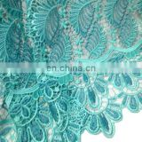 2016 fashion african cotton guipure lace fabric with stones for wedding party
