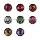 New styles fashionable custom popular rubber snap button