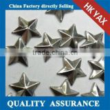 Y1230 Star shape heat transfer copper studs;bling heat transfer convex metal studs;bulk heat transfer convex studs