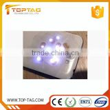 13.56MHz 3D Rfid NFC Nail Tag / Mobile Phone Nail Art Sticker with Led