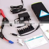high power 12v auto start battery with portable 16000mah power bank 12v auto car starter battery pack