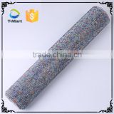 New Arrivals bling bling crystal mesh fabric rhinestone                                                                         Quality Choice