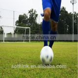 Hot sale 50mm double spine monofilament yarn infill outdoor artificial turf for football field