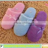 2014 Winter cares indoor use worldwide large supply coral fleece slipper produced in china