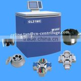 GL21MC floor type high speed large volume health cold centrifuge machine made in china with LCD display