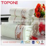 100% Cotton safe material best price oem wholesale high quality polyester bath towels
