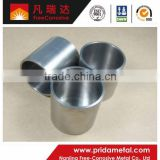 High Purity Tungsten refractory Crucibles made in china
