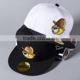 New Popular Cute Cartoon Bear Head Embroidery Unisex Men Women Custom Snapback Caps                                                                         Quality Choice