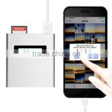 Portable Usb Charger Power Bank 5v/2a 5200mah And I Flash Drive Card Reader For Iphone Ipad