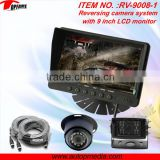 Shenzhen factory rear view camera system with TFT LCD monitor,vehicle rear view system,RV-9008V